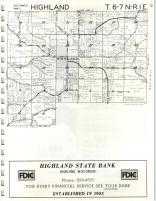Map Image 007, Iowa County 1971